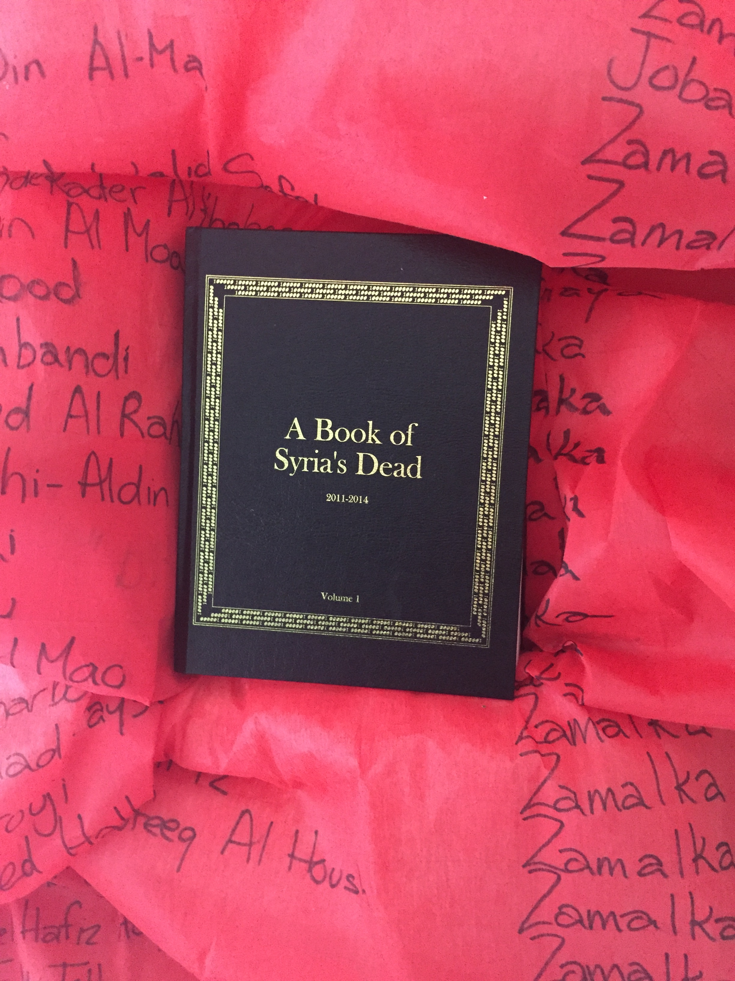 a book of syria dead